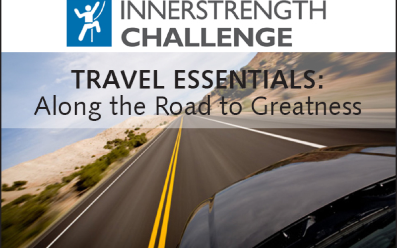 IK Challenge-4 travel essentials along the Road to Greatness